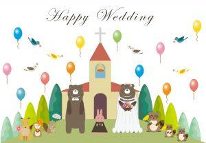 教会の結婚式